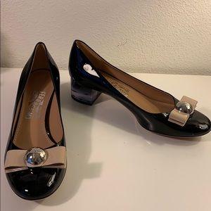 Brand New Salvatore Ferragamo Fiammetta Heels